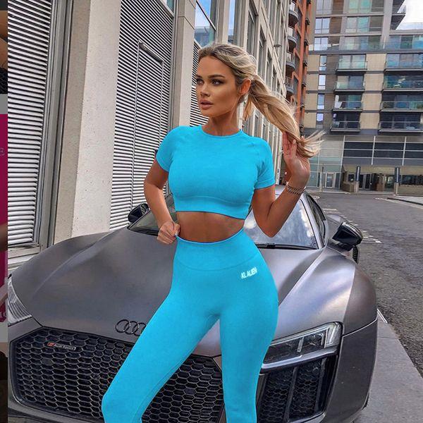 Blue Top Pantalones LG