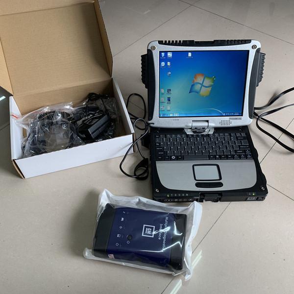 pour g / m mdi interface de diagnostic multiple wifi avec ordinateur portable cf19 outil de balayage à écran tactile 2 ans de garantie ensemble complet