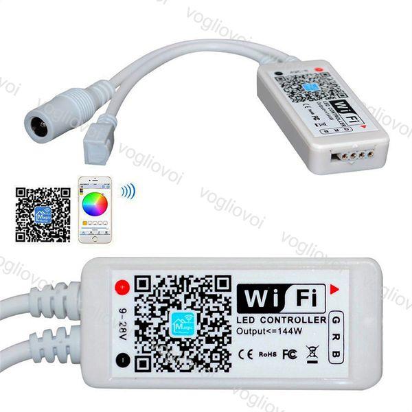 WiFi LED Strip Controller Smart APP Magic Home LED Controlador remoto de píxeles para 5050 RGB RGBW WS2812 WS2811 EPACKET