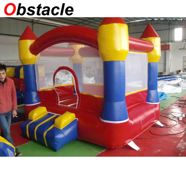 Inflatable Bouncer Indoor Inflatables Jumping Castle Inflatable Trampoline House Inflatable Moonwalk With Free CE/UL Blower For Sale