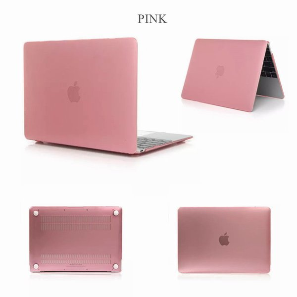 Hot sell Crystal Surface Protective Laptop Case For New Macbook 11 12 inch 13.3 15 Air Pro With Retina Touch Bar