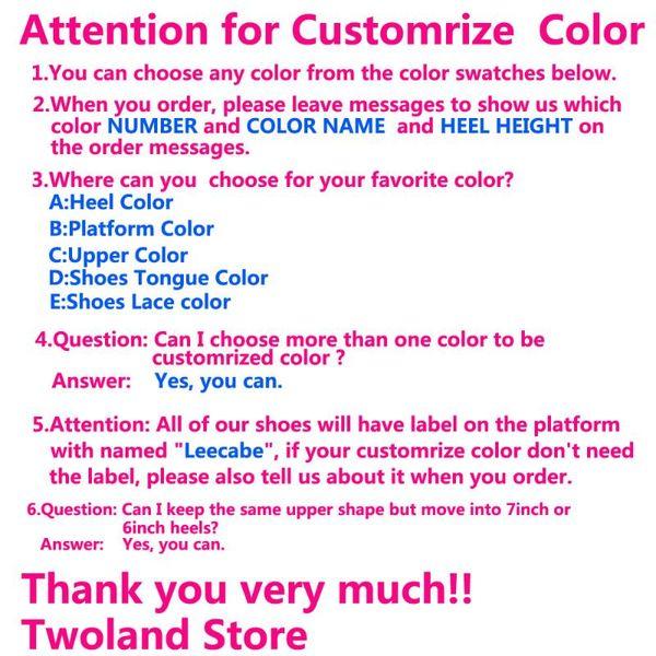 Customrize Color