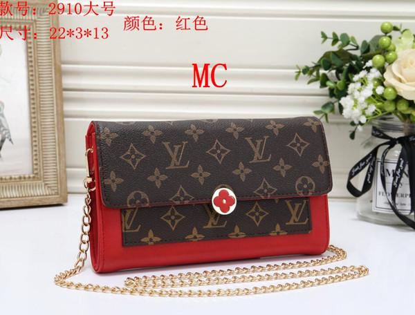 2019 Hot Sale Fashion Handbags Women's bag Designer Handbags Wallets for Women Leather Chain Bag Crossbody Shoulder Bags dorp shipping 014