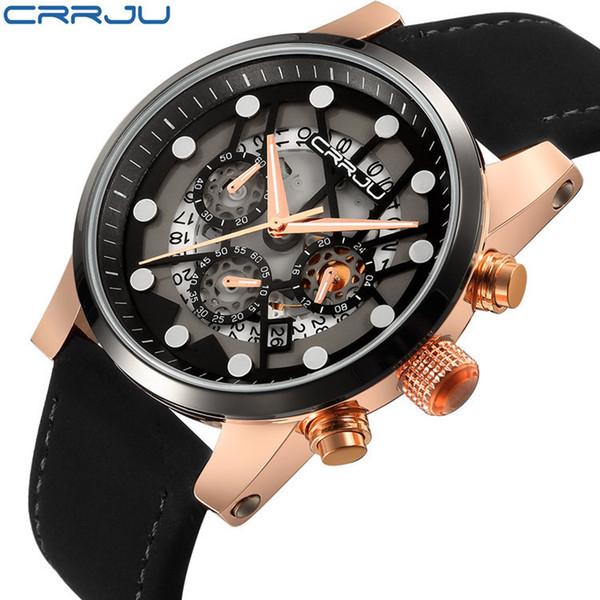 Movimento Lazer relógio de pulso Mais Função Tempo relógios de pulso esporte de quartzo relógios casuais automática relógio de pulso montre dos homens mecânicos do sexo masculino