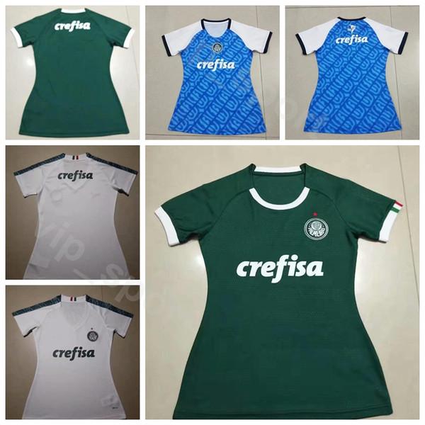 Femmes HENRIQUE Jersey Lady Palmeiras 19-20 Football DUDU ZE RAFAEL WILLIAN DEYVERSON MOISES GUERRA JEAN HYORAN Maillot de Football Kits Uniforme