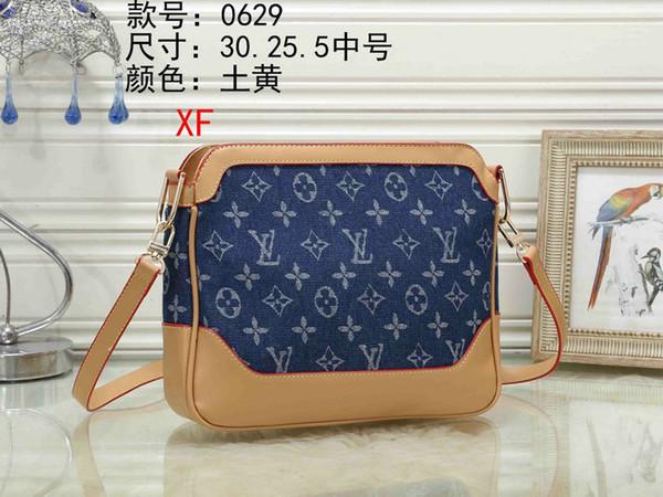 Paris sıcak satış tasarımcı ONTHEGO crossbody messenger çanta BENIM YAN ünlü ünlü kaliteli deri çanta klasik stil eyer çanta toz torbası