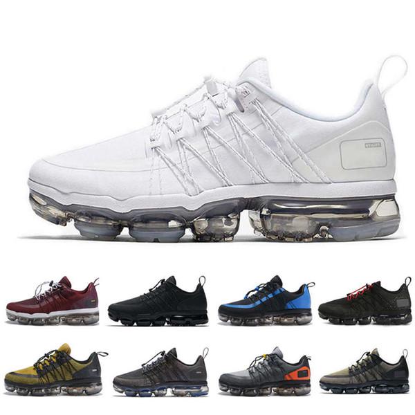 Compre 2019 VPM Run Utility Black Reflect Silver Zapatos Para Correr Zapatillas De Deporte Hombres Triple Blanco Urban Bounce Hombres Zapatos De