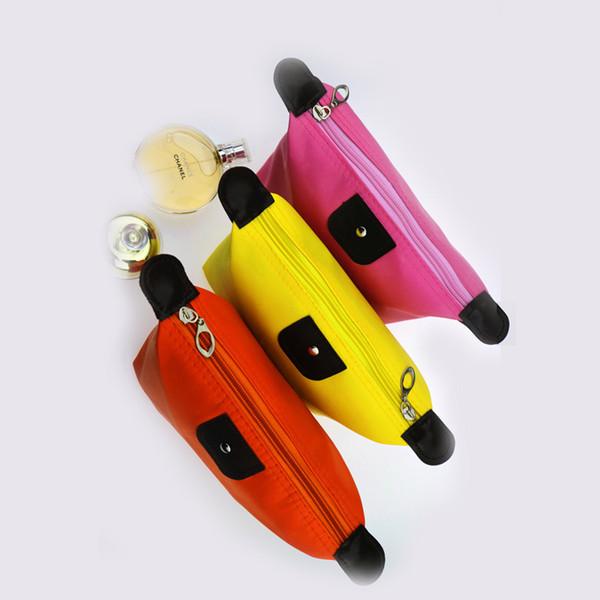 Sacs Dumplings Paquet cosmétiques portables Organisateur Boîte filles maquillage Sac femmes Sac Voyage Wash