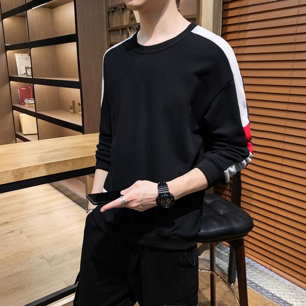 Moletons Luxo camisola dos homens de marca para homens manga comprida Jumper Moda Patchwork Streetwear Designer Mens Hoodies tamanho M-4XL grosso