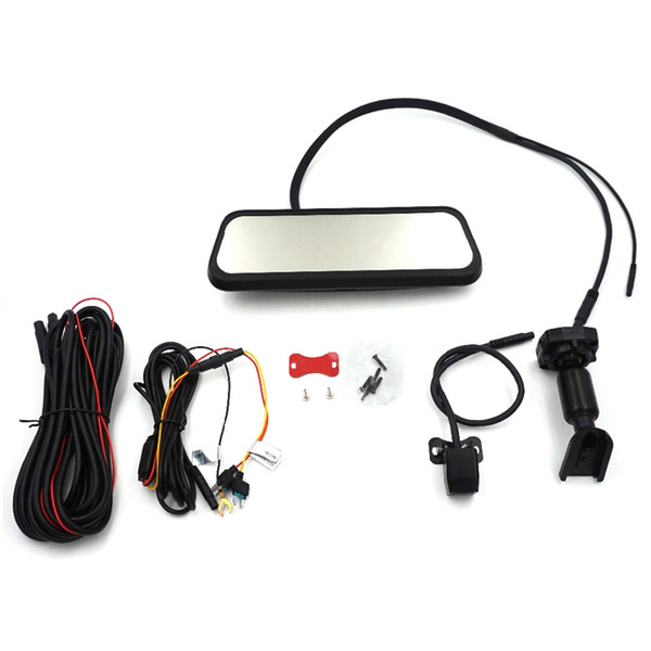 Hd 8,5 pouces de presse complet Ips écran voiture Dvr Mirror Moniteur avec double enregistreur Gesture caméra Starlight nuit Opération 1080P