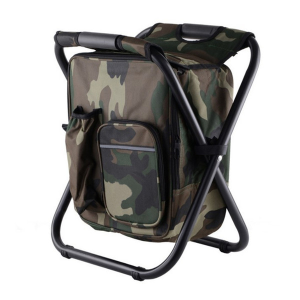Folding Famous Portable Fishing Chair Brand Fishing Backpack Chair Stool Convenient Wear-resistantv for Outdoor Hunting Climbing Equipment