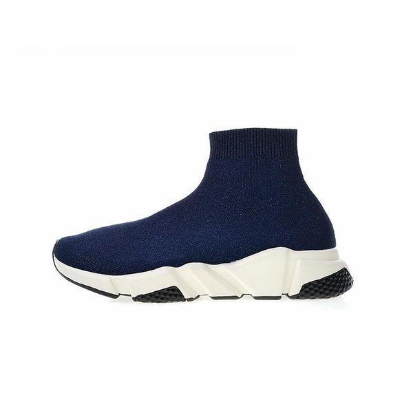 Luxury Designer fashion Shoes for women men Speed Trainer Black Red Triple Black Flat Fashion Socks Boots mens Sneaker Speed Trainer Runner