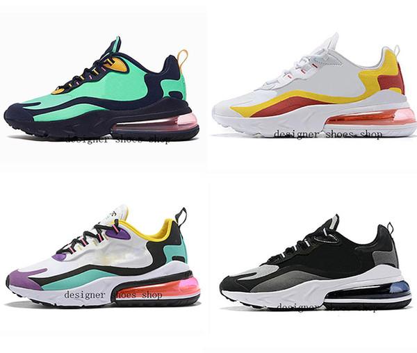 sapatos de grife BAUHAUS OPTICAL Running Shoes Mens Reagir formadores Walking calçados casuais Athletic negros mulheres brancas verdes Sapatilhas de luxo 36-45