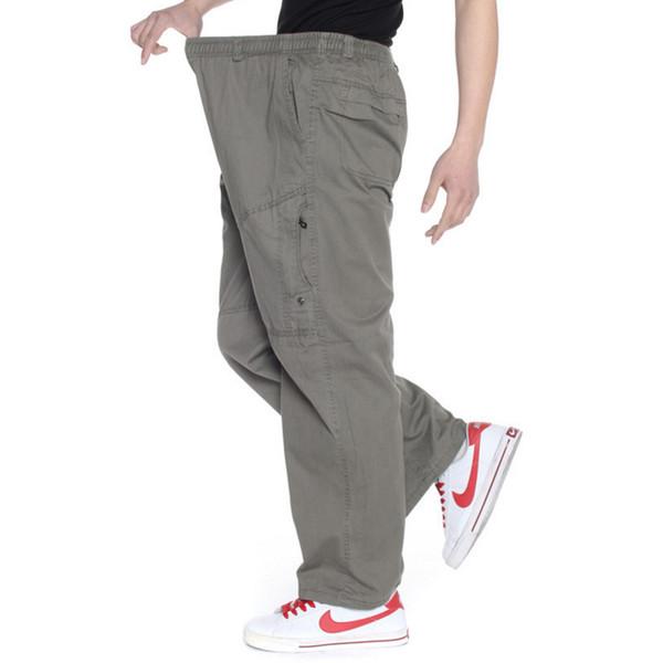Plus Size Cargo Pants Mens Jogger Style Tactical Pants Pantalones Overalls Sweatpants Loose Baggy Trousers