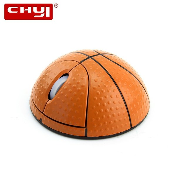 CHYI 2.4GHz Wireless Mouse Football Basketball Shaped 3D Optical 1600 DPI Mause Computer Sport Cool Mice For PC Laptop Desktop