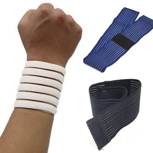 Os mais recentes Suporte Mão 1Pcs Ginásio de Esportes de pulso Enrole Strap Guarda Proteja Bandage Pulseira