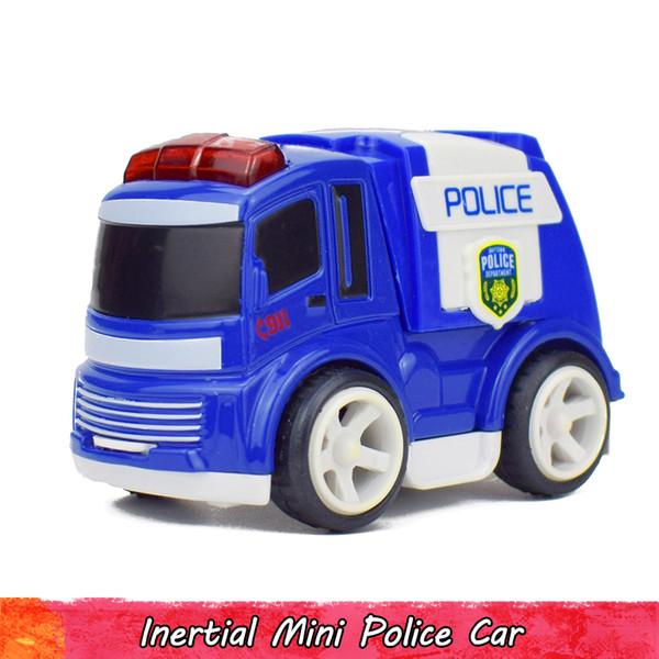 Atalet Polis Mini Araba Modeli Oyuncak Boys için Alaşım Diecast Cop Model Araçlar Geri Çekin Araba Oyuncaklar Çocuklar için Çocuklar için Komik Hediye