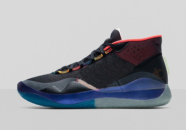 Kutu sıcak Kevin Durant 12 Basketbol ayakkabı mağazası ücretsiz kargo size40-46 ile satış için KD 12 WNBA All Star ayakkabılarını