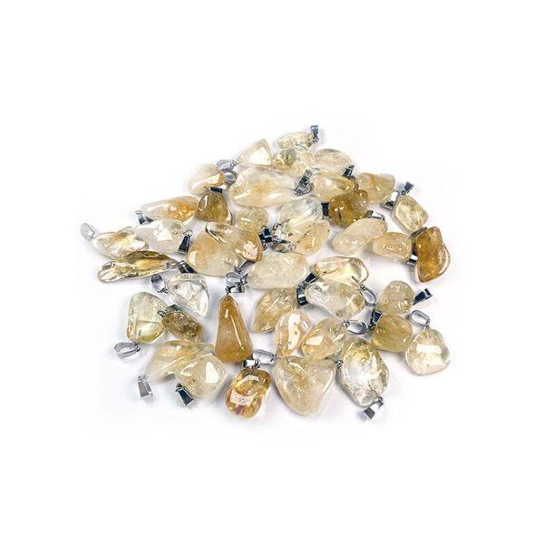 pierre de cristal jaune