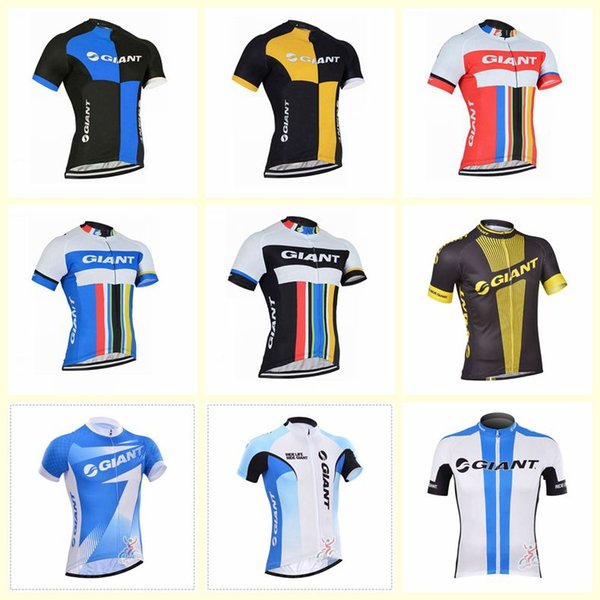 GIANT team Cycling Short Sleeves jersey 2019 Racing Bicycle Maillot Ciclismo Mtb Bike Clothes Sportswear U61006