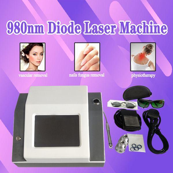980nm Diodengefäßentfernung 980 Laserdioden Venenspinne entfernen Lasermaschine Gefäßbehandlung 980 Lasermaschine