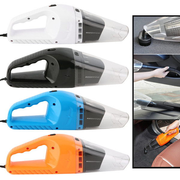 120 W Compact and Lightweight Portable Cars Vehicle Vacuum Cleaner Square Head 12V Car Low Noise