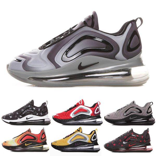 Compre Nike Air Max 720 720s 72c Airmax Retroceso Futuro Zapatillas Para Hombre Luna Iridiscente Aurora Boreal Mar Bosque Zapatos De Diseño Para Mujer