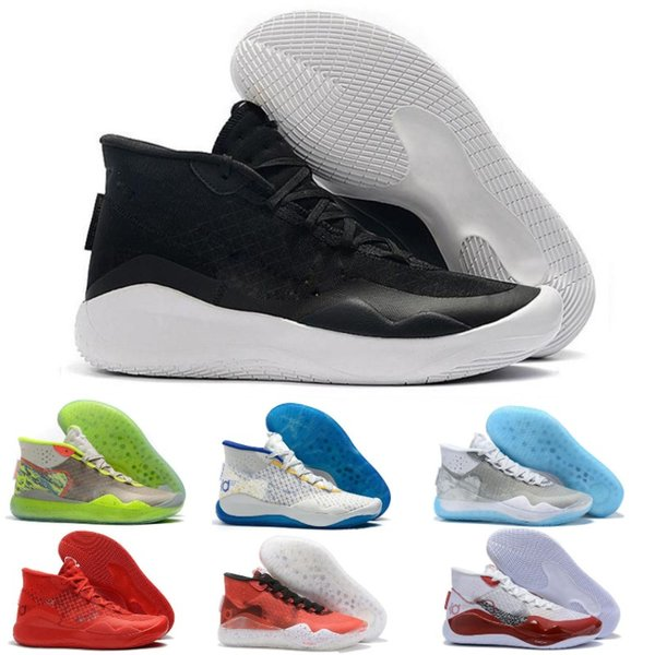 Best Basketball Shoes 2020.2020 New Kd 12 Eybl Multi Color University Red Ice Basketball Shoes Original Kevin Durant Xii Kd12 Mens Trainers Sneakers Size 7 12 Best Basketball