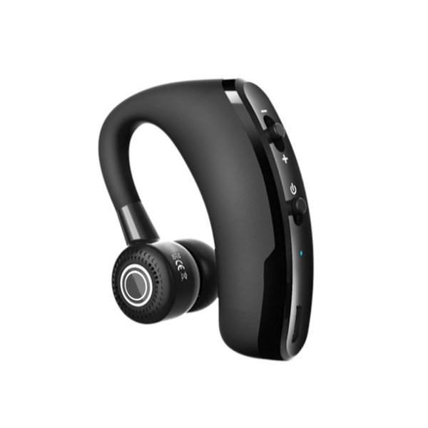 (Ready Stock) V9 Wireless Bluetooth Business Earphone CSR Stereo Belt Sound Control headset