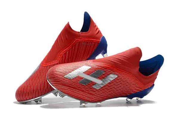 bajo costo estilo de moda diseñador nuevo y usado Compre 2019 Original X18 Messi Speed Mesh Tacos De Fútbol Para Exteriores  New Mens Low Ankle Football Boots X 18 FG Calzado De Fútbol X 18 Speedmesh  ...