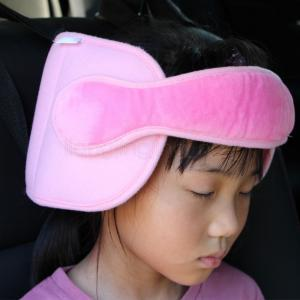 Kids Head Support Pad Almohadas Pram Car Sleeping Asiento Reposacabezas Sleeping Head Rest Support Pad Almohada Bebé Viaje tapa de seguridad 50pcs AAA1632