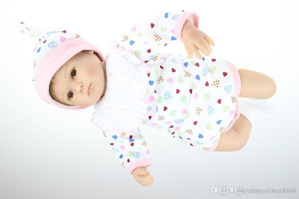 new hot sale lifelike reborn baby doll wholesale baby dolls fashion doll Birthday Present for girl