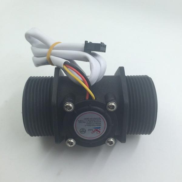"""G1.5, DN40 Water flow sensor, Industrial flow meter 1.5"""" Water Flow Flowmeter Counter Hall Sensor Switch Meter 5-150L/min"""