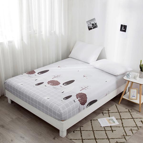 100% Ployster Bedding Set Comforter Set di biancheria da letto Copripiumino Lenzuolo Pillow Quilt Cover Single / Double / Queen Size trapuntato