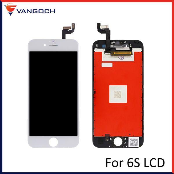 Nueva calidad superior No Dead Pixel Display para iPhone 6s LCD Parte de vidrio Panel táctil Panel táctil digitalizador para iPhone 6s pantalla