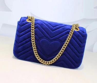 2018 NEW ARRIVED luxury handbags women bags designer small messenger Velour bags feminina velvet girl bag s3