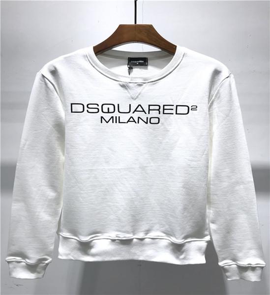 top popular Autumn and winter men's hooded shirt women's jersey brand designer top sweater long-sleeved sweater street hip hop cotton quality loose 2019