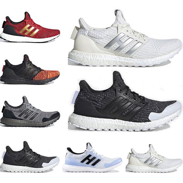 2019 GAME OF THRONES x Ultra boost running shoes men womens White Walker Targaryen Dragons Nights Watch House Targaryen sports sneaker 36-45