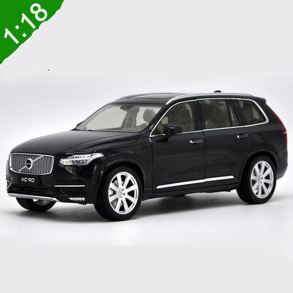 1:18 Pour Volvo XC90 2015 SUV Moulé Sous Pression En Métal Modèle De Voiture SUV Jouets En Alliage De Voiture jouets modèle avec commande au volant Avec Boîte d'origine