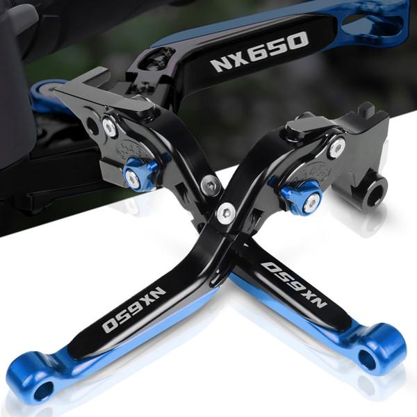 Moto Accessoires NX650 CNC Leviers d'embrayage de frein pour NX650 NX 650 J-X Dominator 1988-1999 1989 1992 1991 1992 1993
