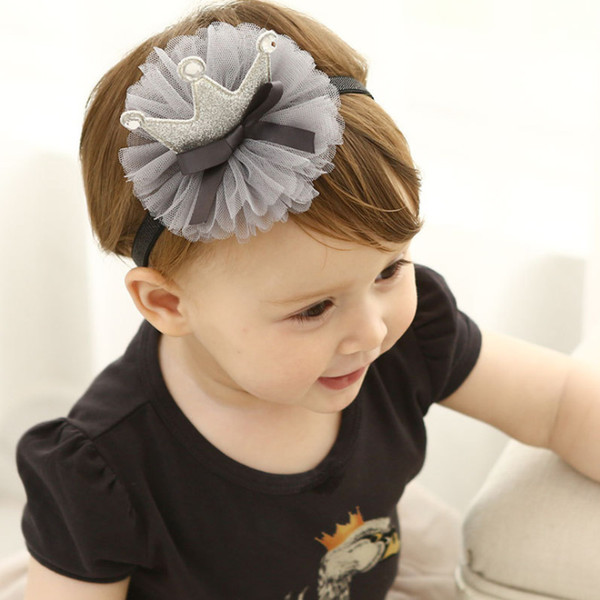Baby Girls Crown headband