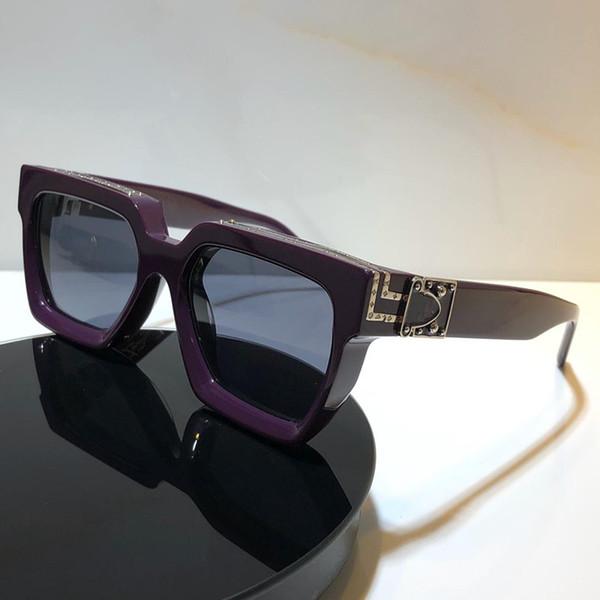 lentille gris violet