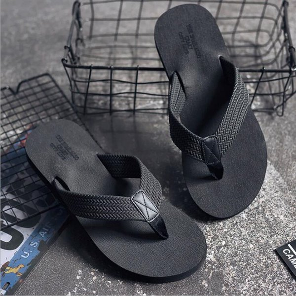 New Summer Men Flip Flops Sandals Casual Men Summer Fashion Beach Shoes Male Flip Flops Men Beach Slipper