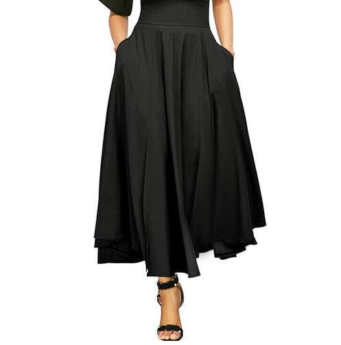 Women Short Skirt Spring New-Coming Europen Cartoon Pattern High Elasticity Pleated skirt High Street Style A-line Mid-Calf