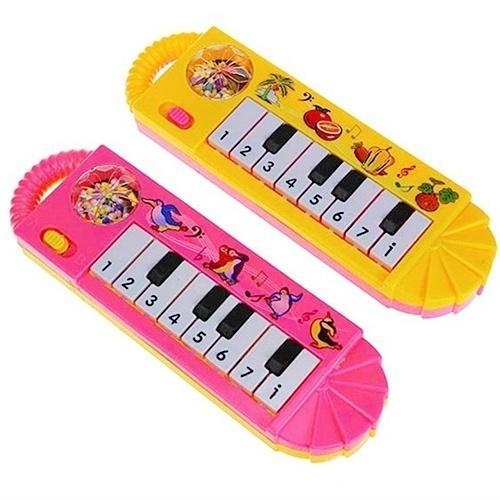 Bebé Infantil Niños pequeños Piano musical Juguete de desarrollo Educación temprana