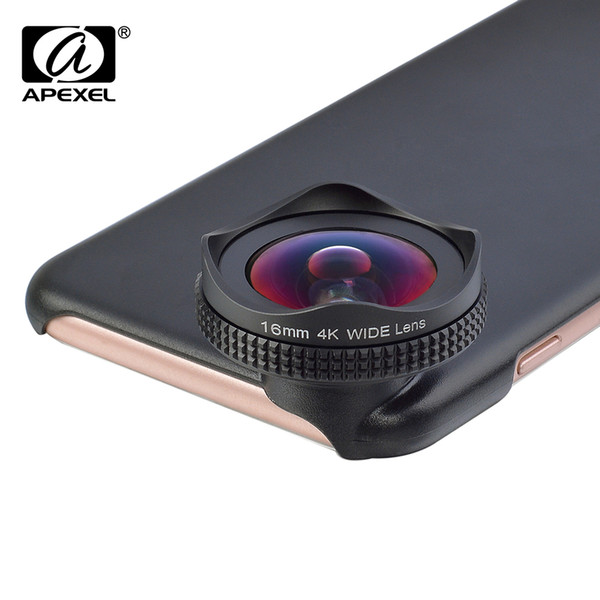 Apexel Hd 16mm 4k Wide Angle Circular Polarizing Filter Wide Cpl Lens Mobile Phone Camera Lens Kit For Iphone 6 6s Plus Xiaomi J190704