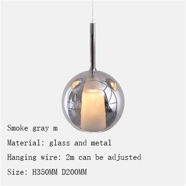 smoke grey m