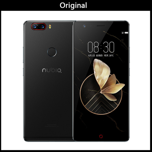 Global Firmware ZTE Nubia Z17 Mini 4GB/6GB RAM 64GB ROM Mobile Phone Snapdragon652 Cellphone Dual Rear Cameral FDD LTE 4G NFC