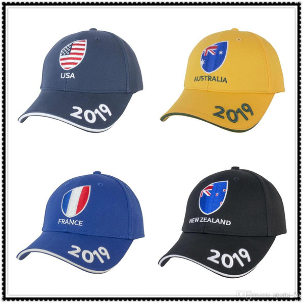 Hot sales 2019 Japan World Cup NEW ZEALAND RUGBY SUPPORTER CAP AUSTRALIA ITALY United States USA national team cap
