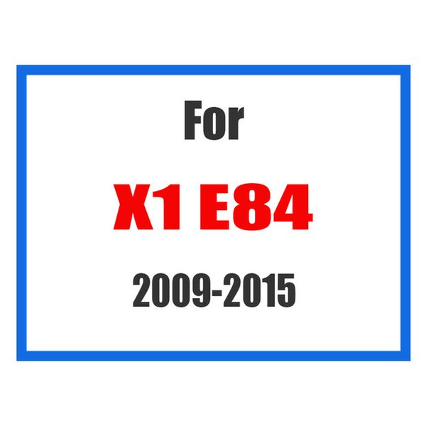 For X1 E84 09-15